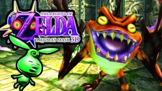 The Legend Of Zelda Majora's Mask 3ds Woodfall Temple Hero's Bow Part 7 Gameplay Walkthrough