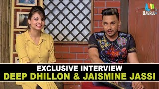 """ Deep Dhillon"" and "" Jaismeen Jassi"" EXCLUSIVE INTERVIEW Search Song Gabruu Live"