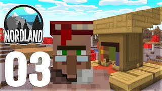 ÅBNER MIN FØRSTE SHOP! | Dansk Minecraft: Nordland #3