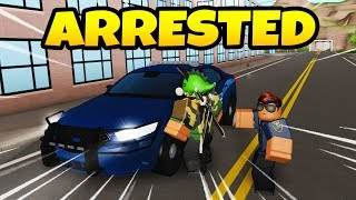 Getting Arrested By THE POLICE | ROBLOX: Emergency Response Liberty County