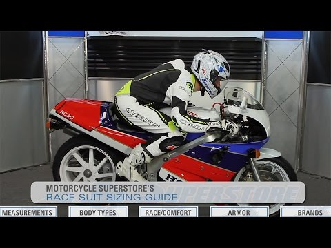 Race Suit Sizing Guide | Motorcycle Superstore