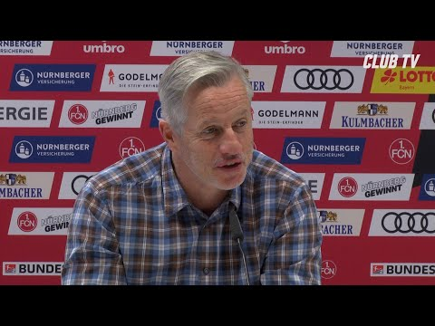 Die PK mit Jens Keller | Karlsruher SC - 1. FC Nürnberg