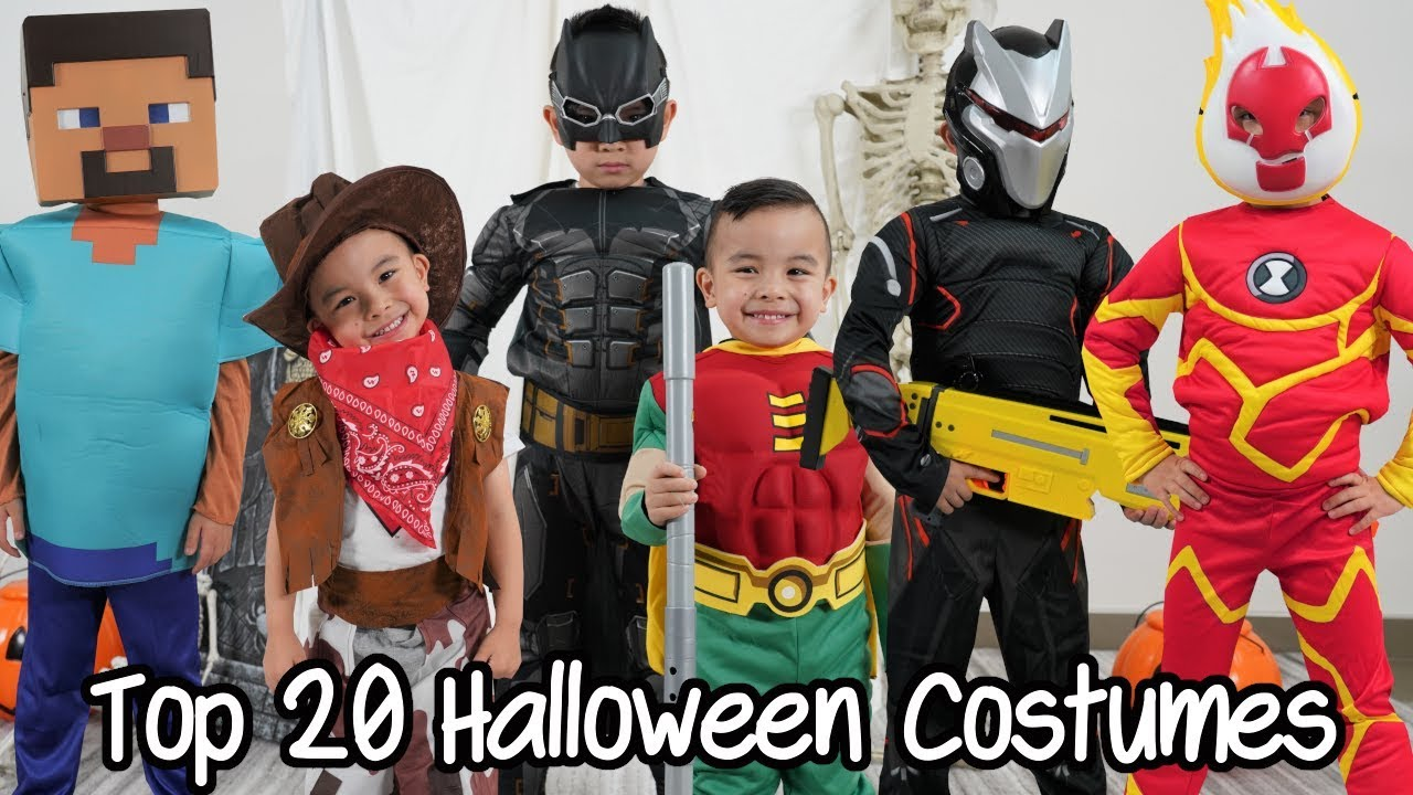 Our TOP 20 HALLOWEEN COSTUMES 2019 Runway Show CKN Toys