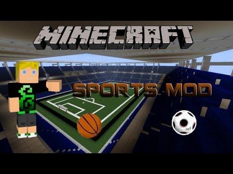 Minecraft mod bemutató : Sports Mod
