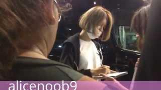 150913 Sooyoung at JFK airport