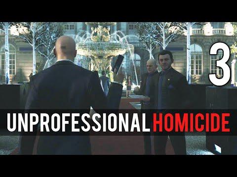 [3] Unprofessional Homicide  (Let's Play Hitman PC w/ GaLm)