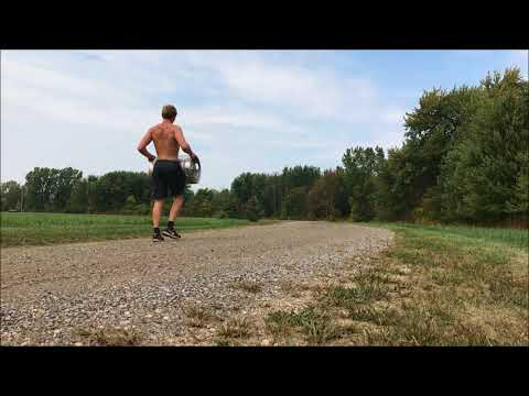 Strongman Workout Timelapse - Farmer's Carry, Keg Carry, Stone Load