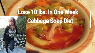 Lose Weight Fast: Lose 10 lbs in One Week / Original Cabbage Soup Diet