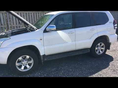 """ANDREW's JOB COMPLETED - TYPICAL REPORT & FINDINGS on older 120 with """"standard service """" $17k Prado."""