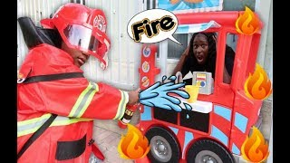 Super Siah The Fire Fighter Saves The Food Truck