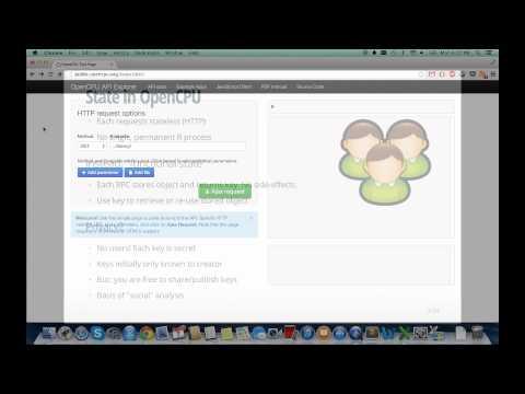 OpenCPU presentation at useR! 2014