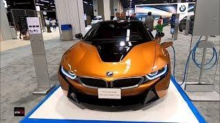 2019 BMW i8 Roadster Exterior and Interior Walk around - 2018 OC Auto Show