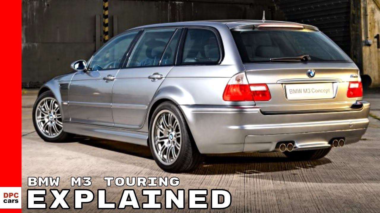 bmw m3 touring wagon based on e46 explained youtube. Black Bedroom Furniture Sets. Home Design Ideas