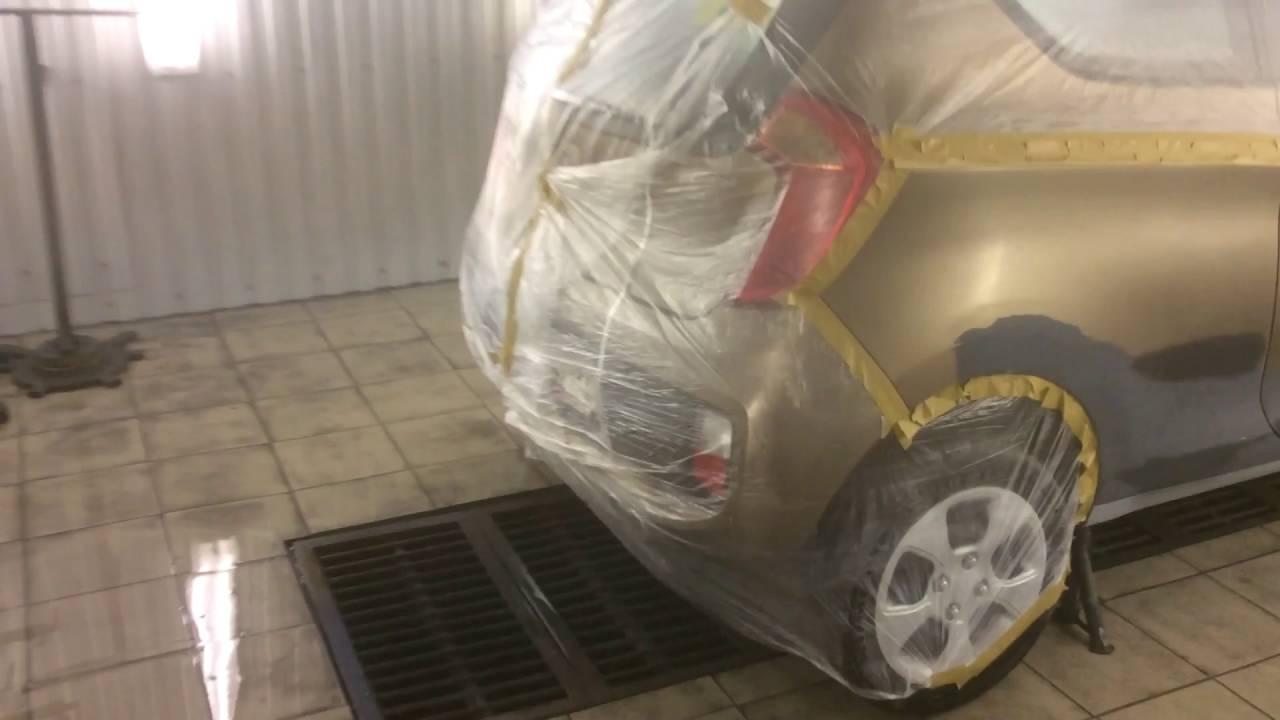 Ремонт порога на автомобиле КИА пиканто