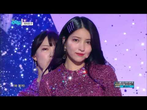 【TVPP】GFRIEND -'Time For The Moon Night', 여자친구 - '밤'@Show Music Core 2018