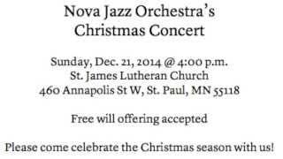 Nova Jazz Orchestra: Watch Out
