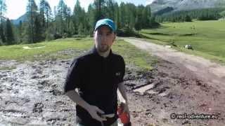 Rasante Offroad-Jeepfahrt Federa See - Dolomiten Italien - Abenteuer Alpin 2011 (Folge 7.1)