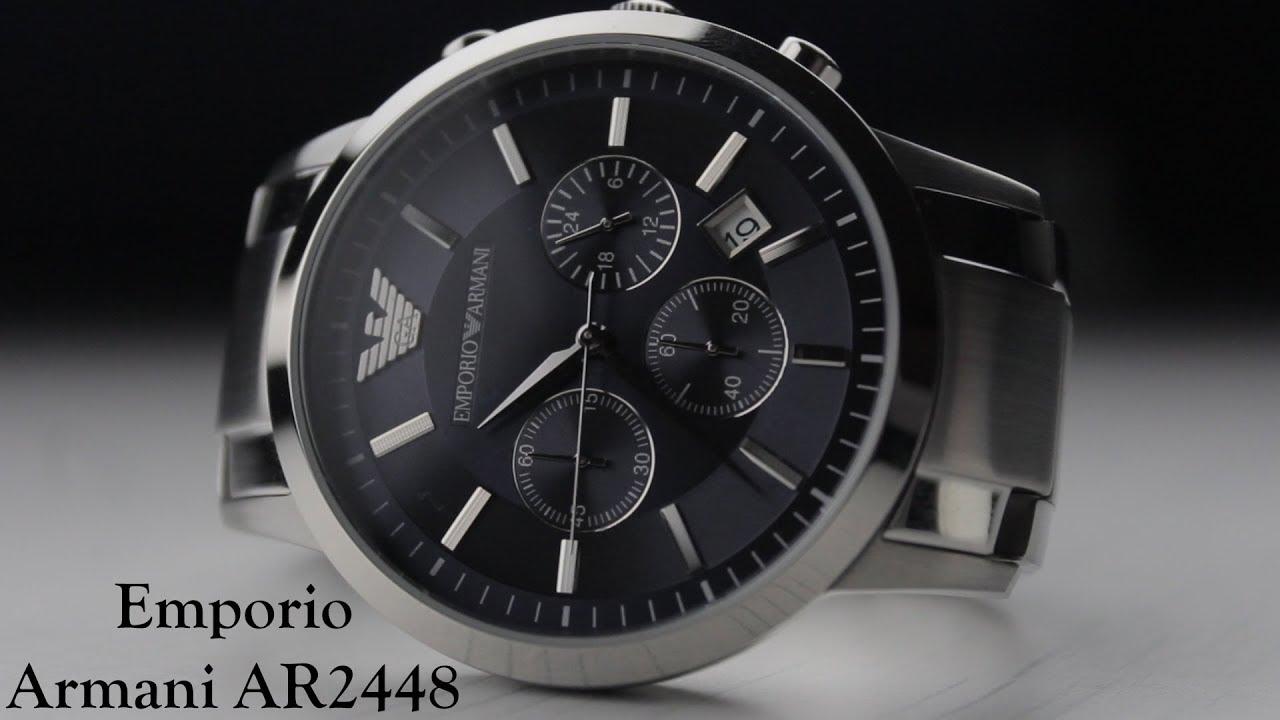 c822369b3fb Emporio Armani AR2448 Overview - YouTube
