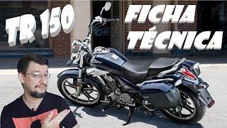 TR 150 HAOJUE, ficha técnica + painel e muitas informações.