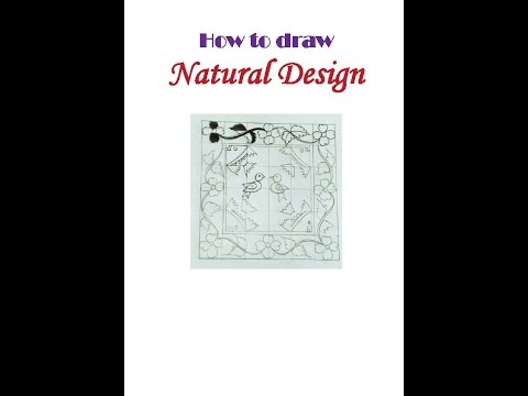 How to draw Natural Design