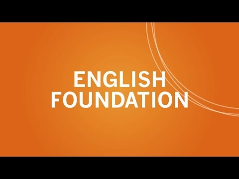 Learn Core English Skills with English Foundation
