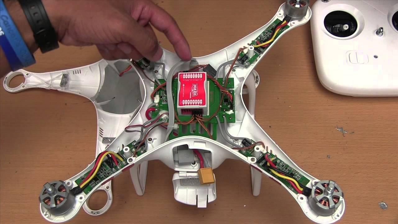 DJI Phantom Wiring Diagram  YouTube