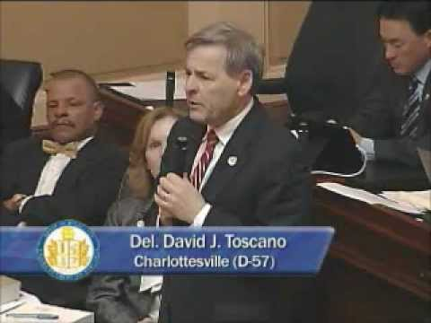 House Democratic Leader Toscano raises concerns about proper protocol/procedures, Mar 5 2012