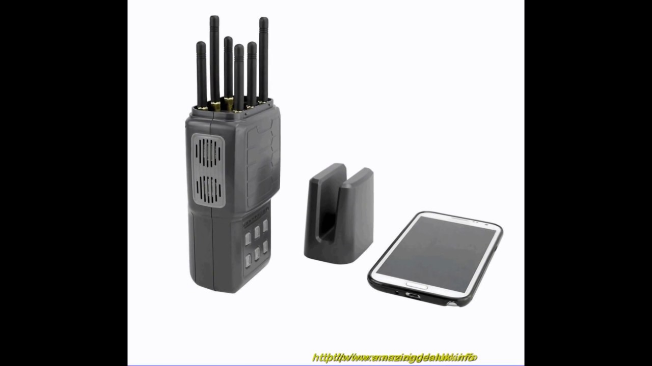 Android phone signal blocker | 39W 18 Channels Multi-purpose Desktop 3G 4G GPS WiFi LoJack Adjustable Signal Jammer