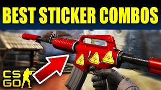 Top 10 BEST Sticker Combos In Counter-Strike: Global Offensive