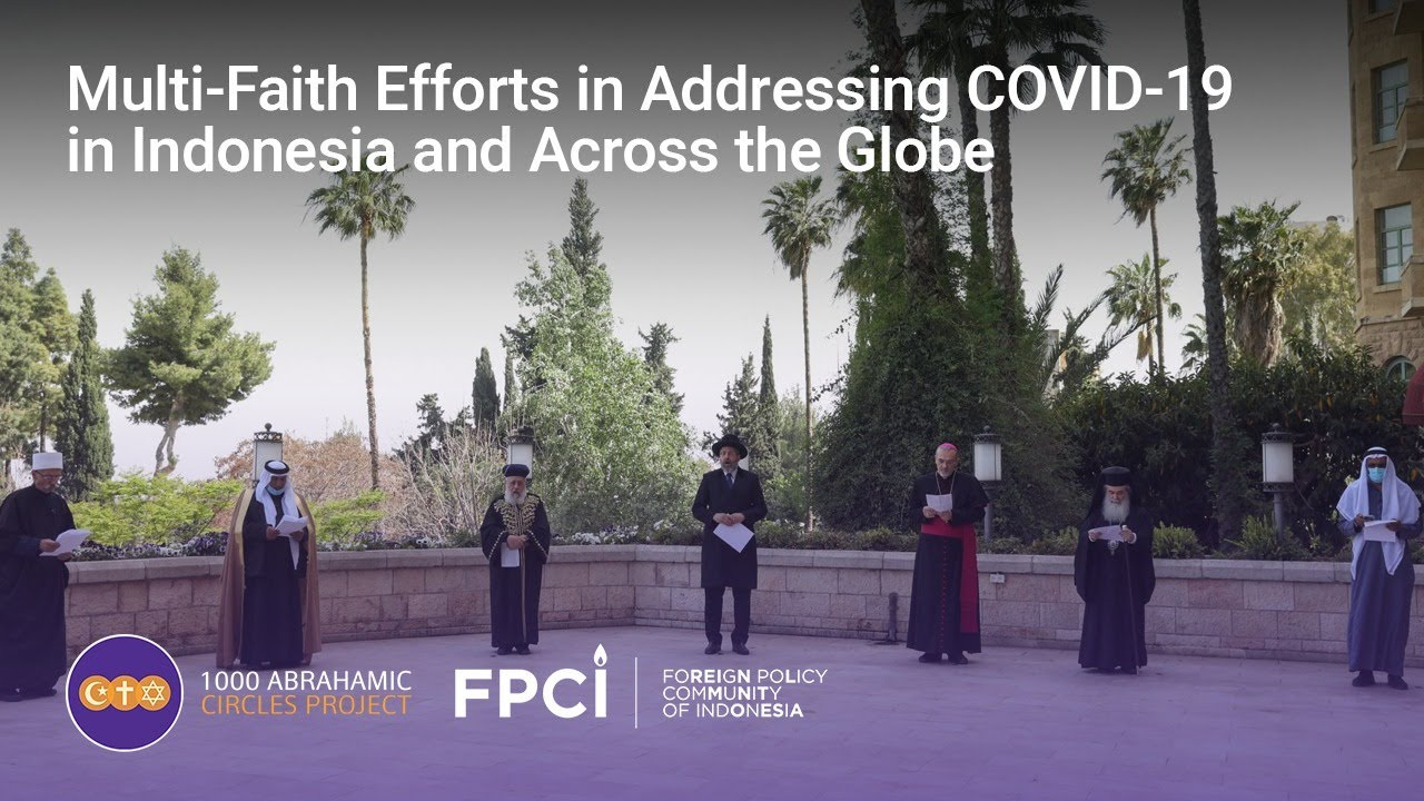 Multi-Faith Efforts in Addressing COVID-19 in Indonesia and Across the Globe