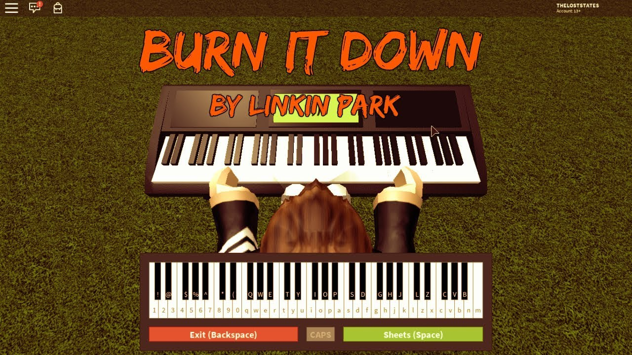 Roblox Music Sheets Piano Burn Roblox Codes Redeem For Hairs