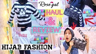 HAUL & REVIEW HIJAB FASHION FROM ROSEGAL Mp3