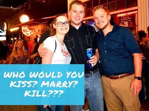 KISS, MARRY OR KILL? ELLEN DEGENERES, DONALD TRUMP OR JENNIFER ANISTON