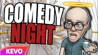 Comedy Night but it's a christian server