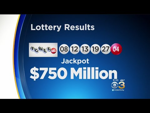 Powerball Winning Numbers Drawn For $750 Million Jackpot