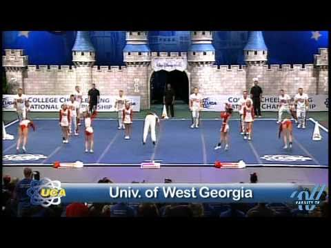 university of west georgia cheer division ii finals youtube