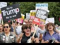 Thousands of Donald Trump UK protesters take to streets across country