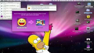 How to install Yahoo Messenger for Mac OS X
