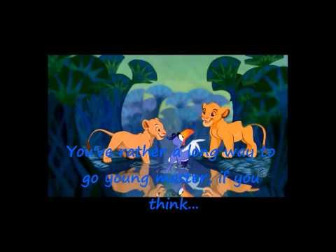 Lion King Karaoke Medley