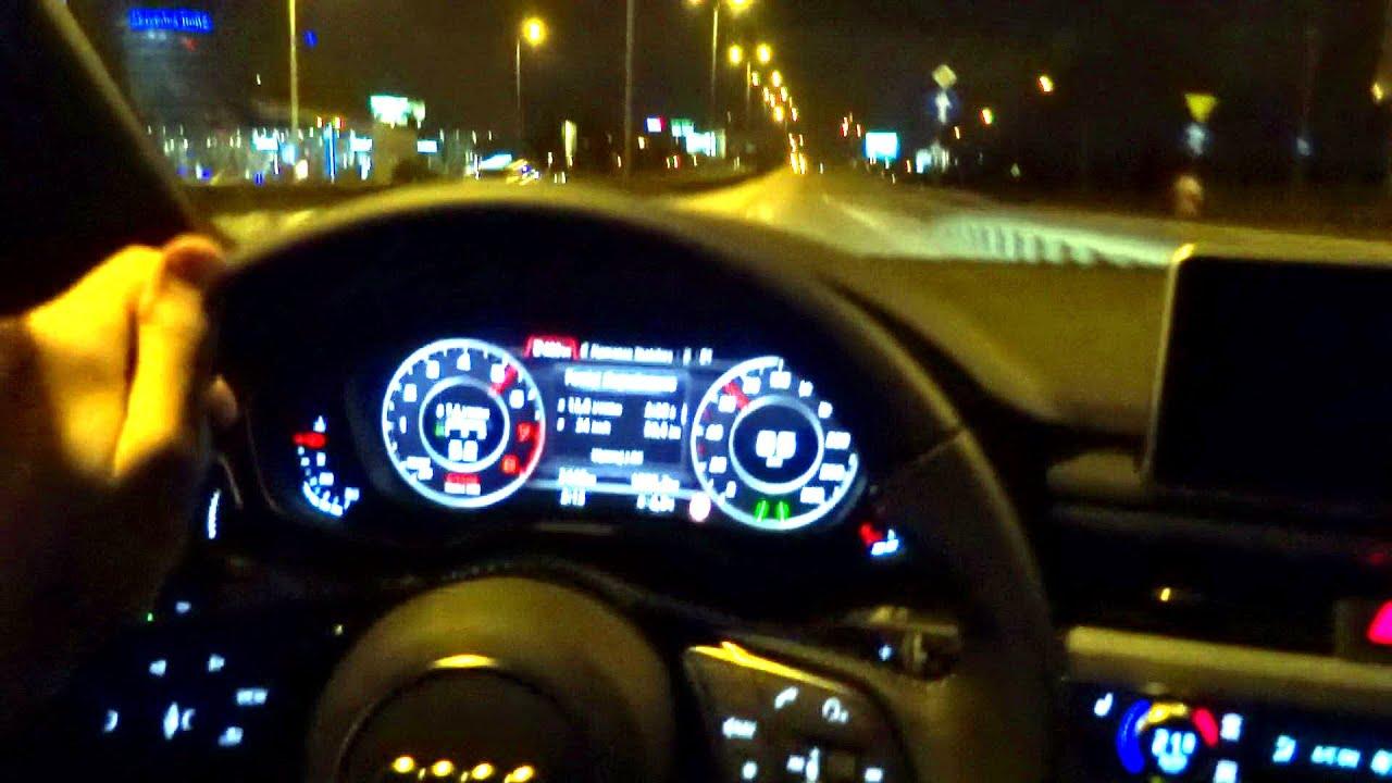2016 Audi A4 B9 Quattro 2 0 Tfsi Night Driving Test Drive