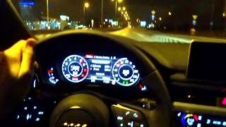 Video 2016 AUDI A4 B9 Quattro 2.0 TFSI Night Driving Test Drive Sound Deadening Insulation Jazda PL download MP3, 3GP, MP4, WEBM, AVI, FLV November 2018
