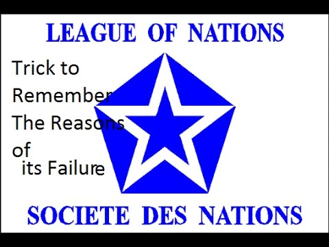 the reasons for the failure of the league of nations essay The league of nations four failures of the league in the 1920s seven reasons why the league failed in the 1930s [was dumb.