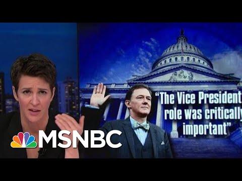 First Public Impeachment Hearing Presents Triple Threat To Trump | Rachel Maddow | MSNBC