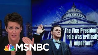 First Public Impeachment Hearing Presents Triple Threat To Trump | Rachel Maddow | MSNBC