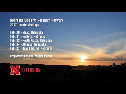On-Farm Research Meetings - Laura Thompson - February 10, 2017