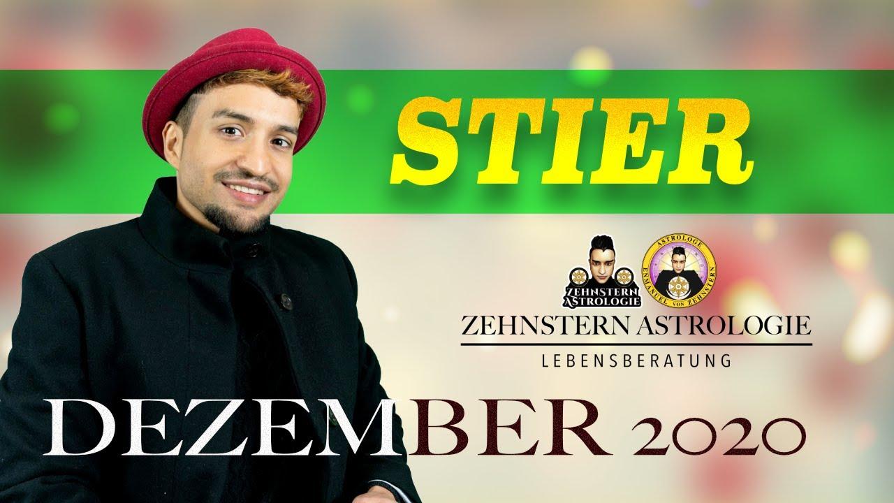 STIER MONATSHOROSKOP DEZEMBER 2020 | #ZehnsternAstrologie.com