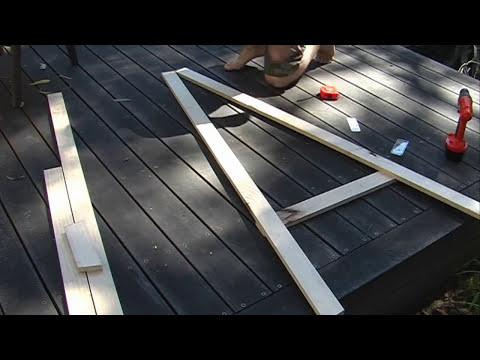 HOW TO MAKE YOUR OWN EASEL