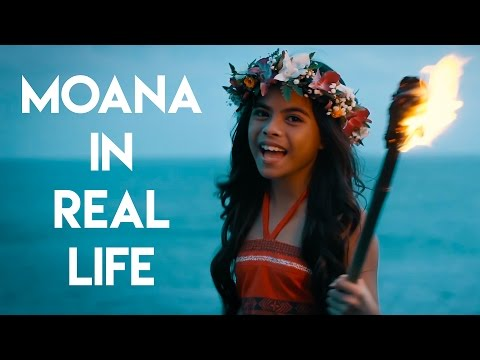 Moana in Real Life -