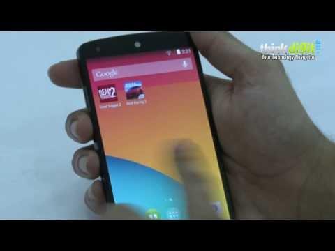 Google Nexus 5 Review - User Interface