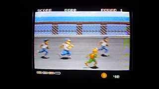 Sega Mega Drive - DJ Boy - NTSJ - Sega / Kaneko